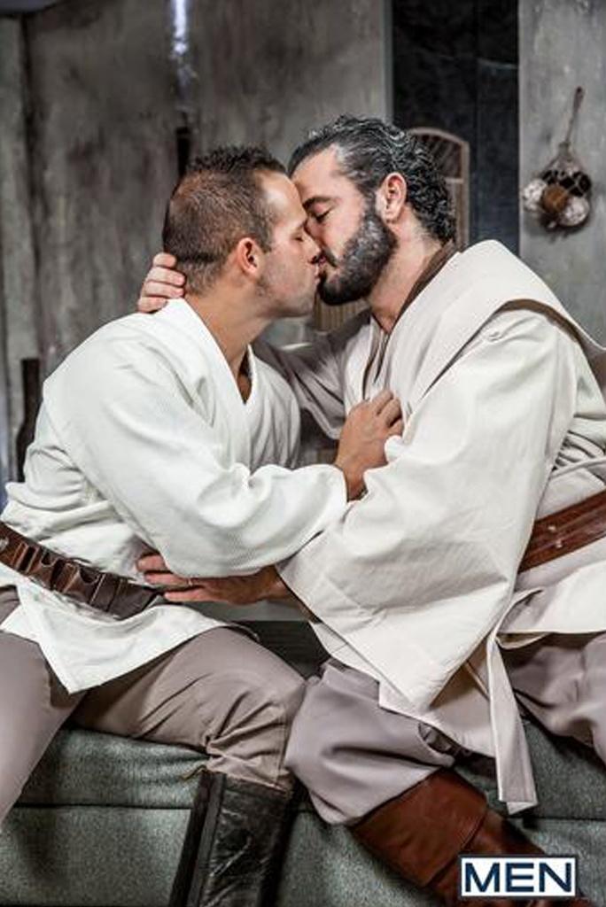 Obi  Wan Luke Skywalker Star Wars Gay Porn Ep. 2-1.1